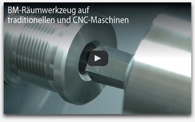 BM Raumwerkzeug auf traditionellen und CNC maschinen