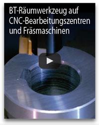 BTA raumwerkzeug auf CNC Bearbeitungszentren und frasmaschinen