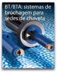 BT/BTA: sistemas de brochagem para sedes de chaveta