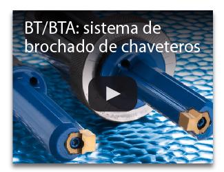BT BTA sistema de brochado de chaveteros