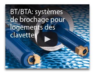 BT/BTA: systèmes de brochage pour logements des clavette