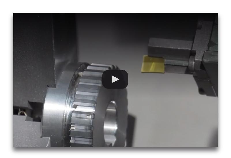 Моторизованного шатуна обработки внешней поверхности